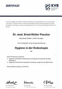 Hygiene in der Endoskopie