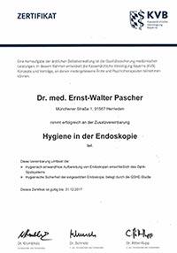 Hygiene Endoskopie